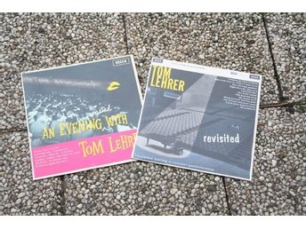TOM LEHRER - AN EVENING WITH + REVISITED 2 LP