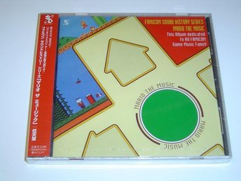 Famicom Sound History Series Mario The Music Original Soundtrack Musik *NYTT*