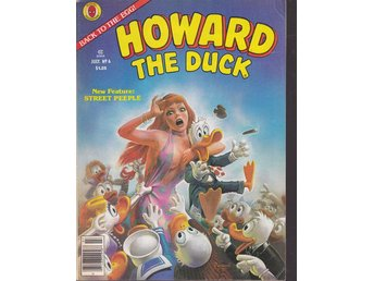 Howard the duck nr 6 (på engelska)