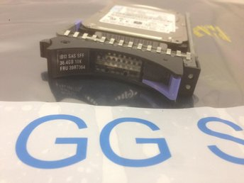IBM 36GB 10K SAS SFF 39R7364