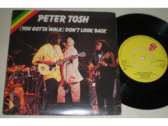 Peter Tosh 45/PS Don´t look back 1978 VG++