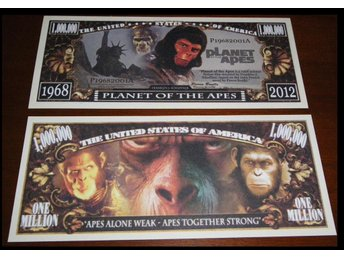 "Planet of the Apes ""En samlarsedel"""