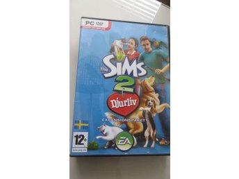 """PC Sims 2 expansionspack - """"Djurliv"""" / Pets - Gävle - PC Sims 2 expansionspack - """"Djurliv"""" / Pets - Gävle"""