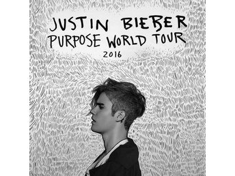 Justin Bieber Purpose World Tour biljett, ståplats 29 september