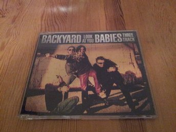 BACKYARD BABIES - LOOK AT YOU (3-TRACK MAXI) '97