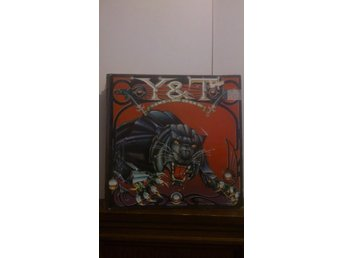 Y & T - Black Tiger , vinyl LP