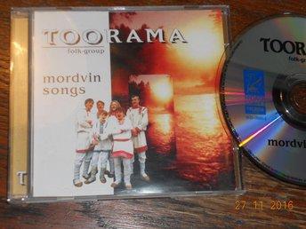 Toorama Folk Group - Mordvin Songs CD Finlandia Finland/Rysland 1997 - Gävle - Toorama Folk Group - Mordvin Songs CD Finlandia Finland/Rysland 1997 - Gävle