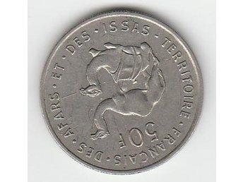 """""""34 ) FRANSKA ÖST AFRIKA 50 FRANCS FRÅN 1978 - Malmö - """"34 ) FRANSKA ÖST AFRIKA 50 FRANCS FRÅN 1978 - Malmö"""