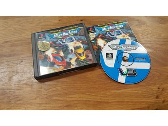 MICRO MACHINES V3 KOMPLETT PS1