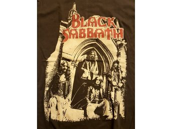 Black sabbath tshirt storlek medium