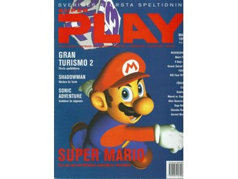 SUPER PLAY,  MARS  1999 - MARIO PARTY , SUPER MARIO  ...