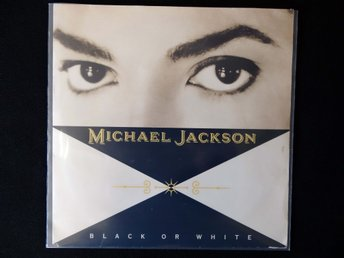 "MICHAEL JACKSON – Black Or White / 7"" Vinyl PS Single Europe 1991"