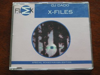 DJ Dado - X-Files Special Scandinavian Edition CD Single 1996 Trance