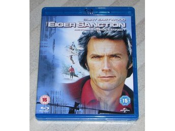 The Eiger Sanction - Svensk Text Blu Ray Bluray - Clint Eastwood Licens Att Döda