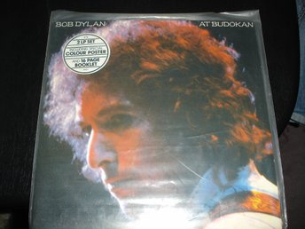 """Lp"" Bob Dylan - At Budokan-Dubbel Lp+Booklet"