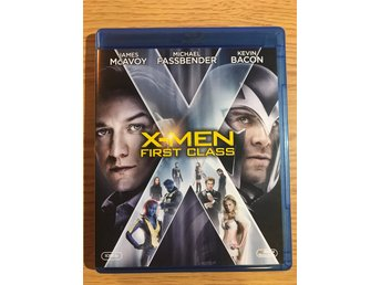 Blu-Ray: X-MEN First Class - Marvel - 2 disc