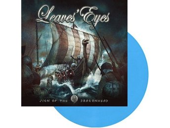 Leaves Eyes ?–Sign Of The Dragonhead lp Blue only 125 copies