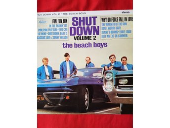 THE BEACH BOYS Shut Down Vol 2. LP 1964