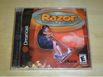 RAZOR FREESTYLE SCOOTER SEGA DREAMCAST *NYTT*