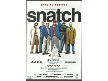 SNATCH  -SPECIAL EDITION - BRAD PITT  (SVENSKT TEXT )