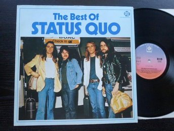 "STATUS QUO - The best of  Pye ""Clubutgåva"" Tyskland 70 tal"