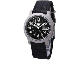 SEIKO MILITARY Nylon SNKN33K1 Watch klocka - Singapore - SEIKO MILITARY Nylon SNKN33K1 Watch klocka - Singapore