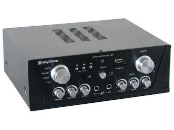 Karaoke Amplifier FM/USB/SD/Rem Blk - Länna - Karaoke Amplifier FM/USB/SD/Rem Blk - Länna