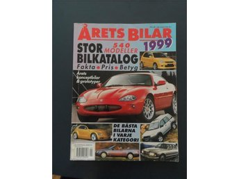 Årets Bilar 1999 - 540 Modeller. - Sjöbo - Årets Bilar 1999 - 540 Modeller. - Sjöbo