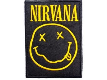 Patch / Tygmärke Nirvana