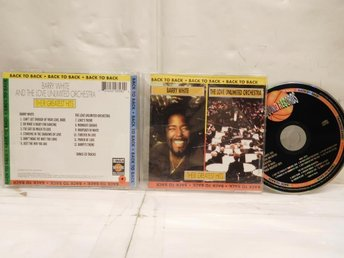 BARRY WHITE & LOVE UNLIMITED - BACK TO BACK - GREATEST HITS