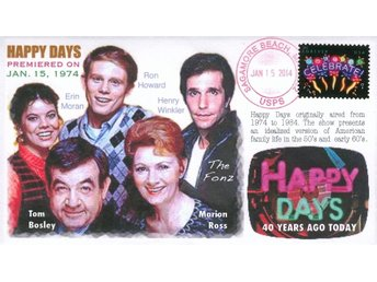 "40th Anniversary ""Happy Days"" Premiere Event Cover"