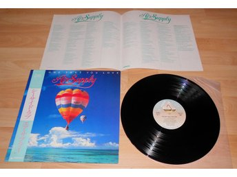 AIR SUPPLY - THE ONE THAT YOU LOVE, JAPAN LP W. OBI+INSERT 1981