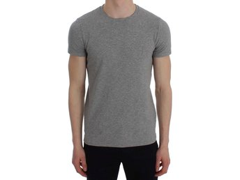 Ermanno Scervino - Gray Cotton Stretch Crew-neck Underwear T-shirt