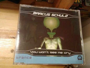 Marcus Schulz - You Won't See Me Cry, CD