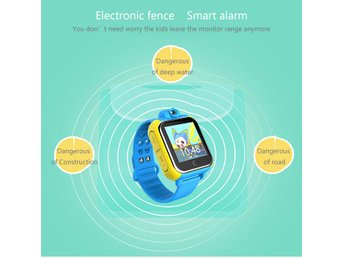Q730 Smart Touch Screen Camera Kid GPS Tracking Watch Wristwatch 3G GPRS SC