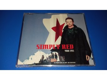 SIMPLY RED - your eyes - cds promo - (cd)