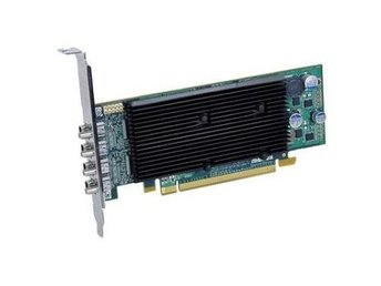 Matrox M9148LP PCI-E x16 1GB, 4xMini Display Port, (Adapter 4xMini DP till DVI)