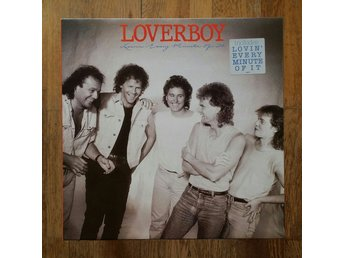 Loverboy, Lovin' Every Minute Of It, 1985, Record = VG+