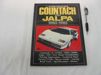 Lamborghini Countach and Jalpa 1980-1985