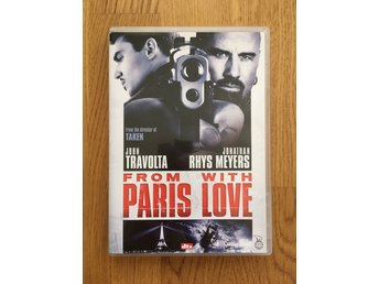 DVD Film — From Paris With Love – Action – Fint skick!