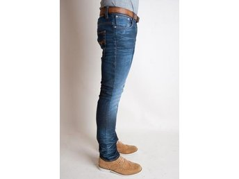 Ny Nudie jeans Thin Finn Cloudy Steel Blue   W29-L32