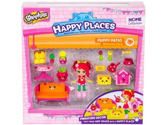 Shopkins Happy Places Series 2 Puppy Patio Welcome Rosie Bloom