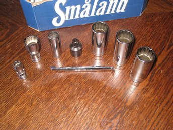 Snap-on  3/8 hylsor , Tum