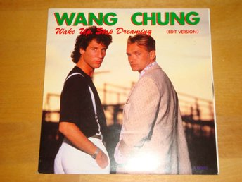 WANG CHUNG - WAKE UP, STOP DREAMING 1985 7""