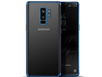 Samsung Galaxy Note 9 - Luxury Slim Case Cover/Mobilskal - Blå