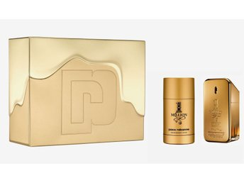 *RABATT* PACO RABANNE ONE MILLION 1 MILLION PARFYMSET SET 50ML EDT+75ML DEOSTICK
