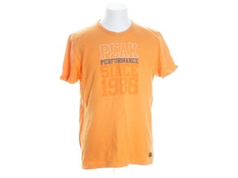 Peak Performance, T-shirt, Strl: L, Orange