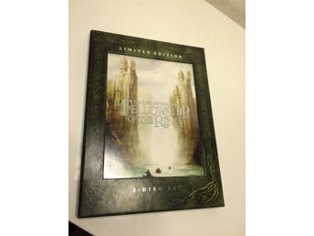 ****DVD THE LORD OF THE RINGS FELLOWSHIP OF THE RING 2 DISC LIMITED EDITION****