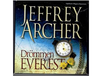 "Talbok, ljudbok Jeffery Archer ""Drömmen om Everest"""