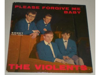 Violents OMSLAG EP Please forgive me baby 1963